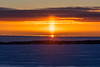 Sunrise across the Bay of Quinte 2021 January 27