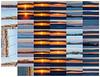 Contact sheet sunrise photos 2021 January 27 includings shots of steel erection on Dundas Street West.