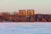 Prince William apartments from the Bay of Quinte at sunrise