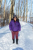 Denise Lantz on Bayshore Trail 2020 February 29
