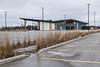 Shorelines Casino nearly empty parking lot 2020 March 31