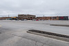 Quinte Mall parking lot almost empty 2020 March 31.