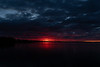 Wide view of the Bay of Quinte before sunrise HDR sequence shot
