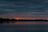 Cloudy sunrise along the Bay of Quinte