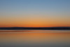 Wide view of the Bay of Quinte before sunrise