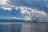 Clouds along the south shore of the Bay of Quinte