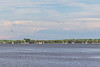 Sailboats along the south shore of the Bay of Quinte 2021 June 30