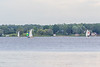 Sailboats on the Bay of Quinte 2021 June 30