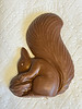 Chocolate squirrel from Donini's