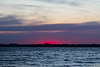 Purple colour across the Bay of Quinte after sunset 2021 May 31