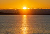 Sunrise across the Bay of Quinte 2021 October 28.