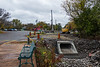 Storm sewer work at Herchimer Boat Launch
