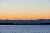 Looking down the Bay of Quinte before sunrise 2021 October 28.