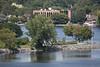Breakwater  viewed from Bay Bridge (Norris Whitney Bridge) on the Bay of Quinte at Belleville, Ontario