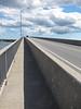 Looking up the Bay Bridge
