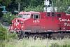 CPR train near Ramada Inn