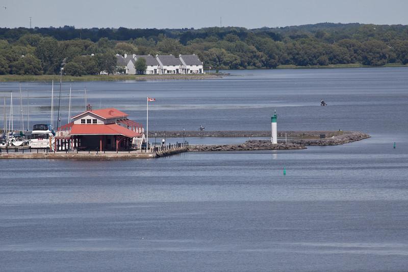 Meyers Pier seen from Bay Bridge