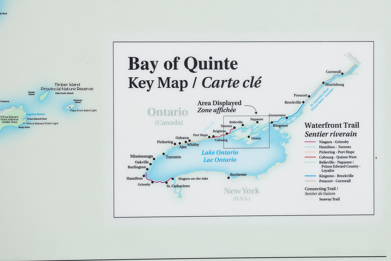 Bay of Quinte Trail maps