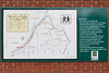 Burk's Falls Heritage River Walk sign with map and information in Magnetewan.