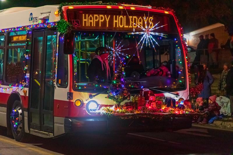 Belleville Night Time Christmas Parade 2019 November 17