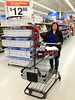 Denise Metatawabin shopping at Wal-mart in Belleville.