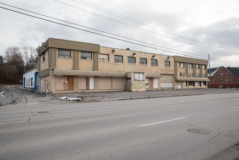 Former Trudeau Motors on Station Street.
