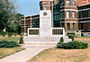 Hastings and Prince Edward Regiment monument at Belleville Armouries 1971