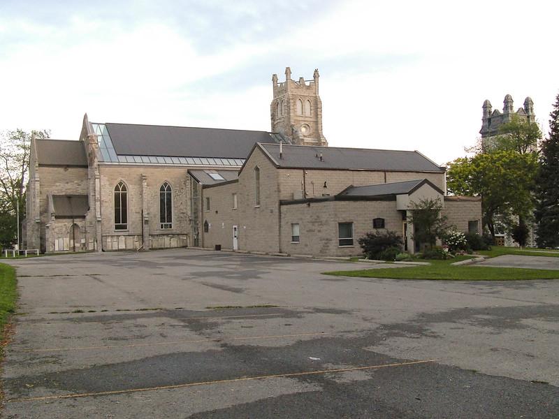Back of St. Thomas Anglican