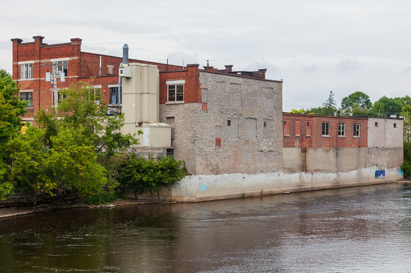 River side of G.T. Lanning factory 2009 August 18