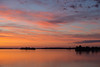 View down the Bay of Quinte before sunrise looking slightly away from where the sun will rise.