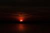 Sunrise down the Bay of Quinte - darker exposure