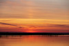 More yellow in the sky down the Bay of Quinte before sunrise