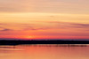 Cream, purple and pink skies down the Bay of Quinte before sunrise