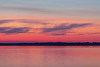 Clouds down the Bay of Quinte before sunrise