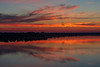 Belleville shoreline of the Bay of Quinte about 15 minutes before sunrise.