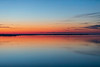 View down the Bay of Quinte 45 minutes before sunrise.