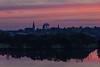 Downtown Belleville before sunrise.