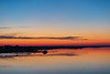 View along the Belleville shoreline of the Bay of Quinte 35 minutes before sunrise.