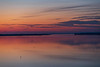 View down the Bay of Quinte 35 minutes before sunrise.