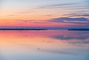 View down the Bay of Quinte 40 minutes before sunrise.