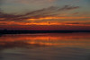 North shore of the Bay of Quinte 10 minutes before sunrise