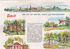 Belleville tourism brochure and map. Undated probably 1960s. The city of history, parks and playgrounds
