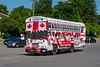 Belleville Chamber of Commerce Canada Day Procession 2020 July 1 - Parkhurst Motors bus