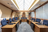 Council Chamber in Belleville Ontario City Hall