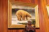 Painting of polar bear