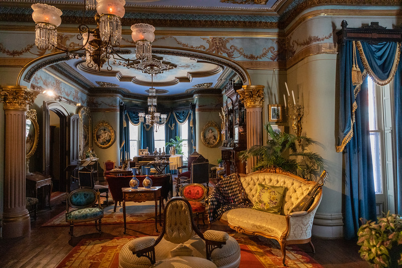 From south to north drawing room
