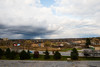 View from room 623 of the Ambassador Hotel showing clouds