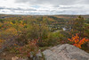View from Eagle's Nest Hawk Watch.