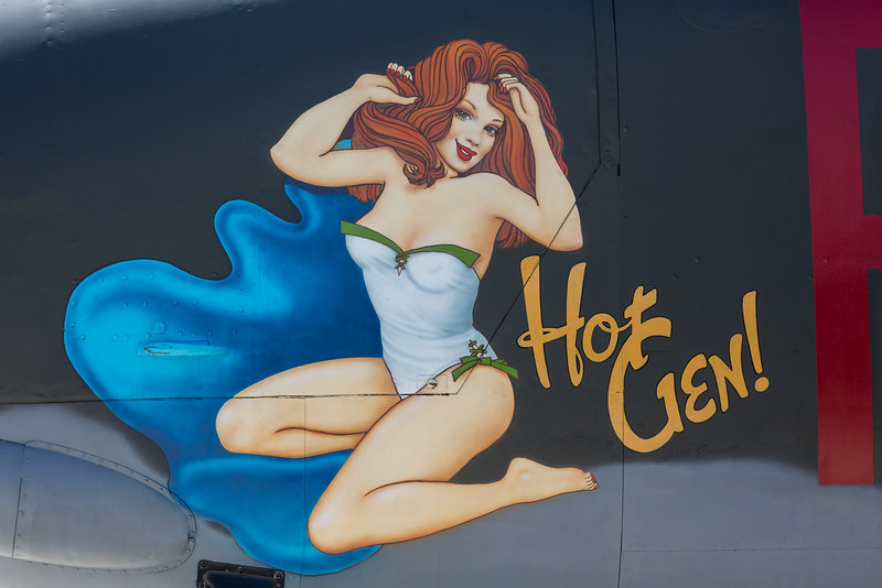 Nose on B-25 Mitchell