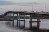 Norris Whitney bridge across the Bay of Quinte seen from Rossmore across from Belleville.